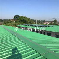 扬州晨洁日化22组奥栋太阳能集热器10吨太阳能热水系统