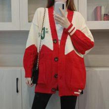 冬季热销新款女士毛衣韩版时尚女装厚毛衣开衫外套批发几元尾货清仓