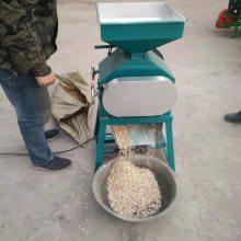 多功能玉米挤扁机 小麦粮食压片机 吕梁豆扁机