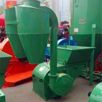 锤片式粉草机 饲料秸秆磨粉机 大型沙克龙豆杆粉碎机