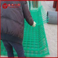 镀塑铁丝防护网图片 高速公路镀塑铁丝防护网型号 厂家定做护栏网