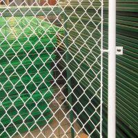 铄凯 厂家直销篮球场护栏网/足球场勾花防护网/运动场菱形勾花护栏网