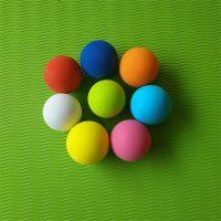 厂家直销EVA球 EVA彩虹球 玩具弹力球 植物大战僵尸子弹球