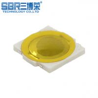三博荣供应贴片式4.8*4.8 超薄按键 黄色薄膜 轻触开关