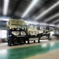 恒美百特厂家供应 时产200吨移动石料破碎机设备