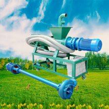 去污能力强粪污分离机 牲畜粪水抽粪机 鸡鸭粪污处理机