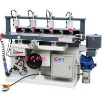 气动多轴钻铣槽机(6轴) 木工开槽机 木工多轴钻孔