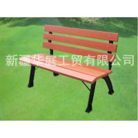 休闲椅 新疆塑木休闲椅美观大方 米泉公园椅新品上市