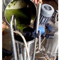 SGN上海思峻GM2000/4新鲜茶叶胶体磨,茶叶专用研磨机
