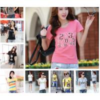 夏季女士T恤批发3元的女装短袖T恤批发时尚新款女式T恤货源便宜批发