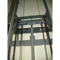 供应SJD0.3-4.5导轨式升降货梯 高空载货升降机 机械手上料液压式货梯