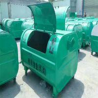沧州志鹏生产勾臂垃圾箱 大型环卫垃圾箱 车载垃圾箱 电动四轮垃圾桶