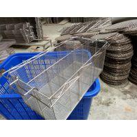 供应郑州医疗器械专用不锈钢焊接网篮厂家