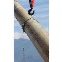 15米电杆三角扒杆 三角架立杆机 铝合金拔杆 博信达