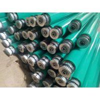 广州产业带机械传送牵引用耐磨橡胶辊聚氨酯胶辊无动力包胶滚筒