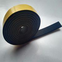 5MM厚黑色防火带网胶氯丁橡胶密封条