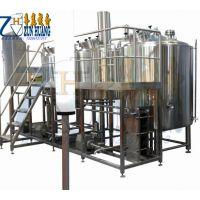 ZH精酿啤酒糖化系统、麦汁糖化设备、啤酒设备