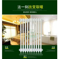QF9E09圆管柱型散热器 工业钢柱散热器 中春品牌 厂家直销 壁厚1.5-2.5mm