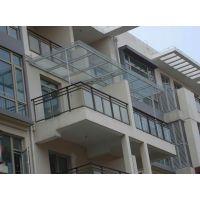 广州不锈钢玻璃雨棚专业定做安装公司
