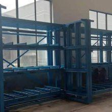 长春煤矿管道存储 管道仓库专用架 悬臂货架尺寸