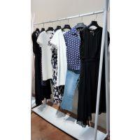 欧美尾货服装走份拉素17夏多种款式品牌女装批发国内一线高档女装品牌