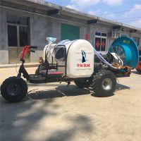 普航自走式柴油四轮喷雾器 小麦水稻农作物打药机 拖拉机风送式打药机价格