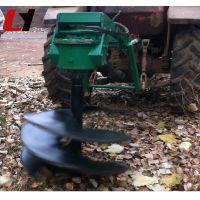 车载式挖坑机价格 高产量拖拉机植树机