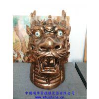 圆明园十二生肖兽首 兽首摆件鼠牛虎兔龙蛇马陶瓷工艺品摆件 景德镇陶瓷