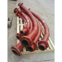 厂家经销;青岛陶瓷耐磨弯头,三通,异型管;