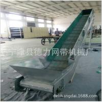 德力厂家生产链板提升机 板式输送机 传送带输送机小型自动