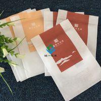 棉纸茶叶袋定做 食品级普洱茶防潮自封袋 小青柑独立小泡袋生产厂家