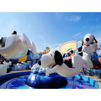 通化市创艺惊爆价推出24座飞天史努比游乐设备公园好玩招人气的游艺设施