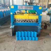 地鑫直销750扣槽板彩钢瓦设备 125-750单板机