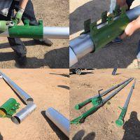【刻发】新型机械立杆工具 三角立杆机 拔杆抱杆 电杆立杆机 厂家直销