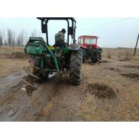 绿化苗木打孔挖坑机拖拉机动力型新型植树挖坑机