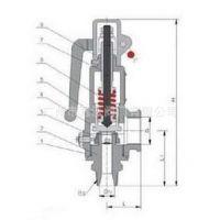 A48Y-16C/25C碳钢带扳手弹簧全启式安全阀