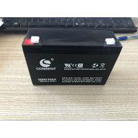 销售(CONSENT)6V10AH儿童车/机器人/电子秤/精密仪器电池(衡水)销售中心