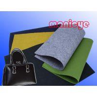 供应无纺布手袋面料、内理、Ipad包装盒 、针刺棉、毛毡布(绦纶纤维,常规36寸),欢迎来样订购