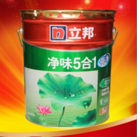 立邦漆 立邦荷净净味五合一内墙漆 15L 净味5合1 全效环保乳胶漆
