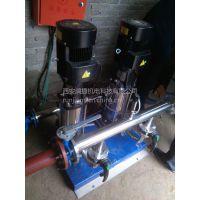 平凉华亭恒压加压原水处理设备 平凉华亭无负压过滤器 无塔供水成套净水器 RJ-2237