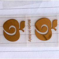 【深圳伟华盛标牌】厂家直供热熔热压电铸标牌,金属镍标,超薄金属贴字