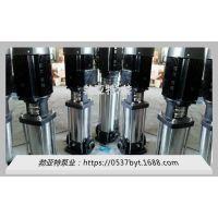 河北省衡水市 农用 QDL不锈钢离心泵 勃亚特生产厂家