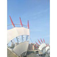 广东雕塑厂家直销钢结构龙翼风帆,公园景观工程雕塑,可定制