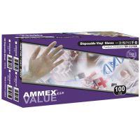 AMMEX爱马斯GPX3CV 一次性PVC手套 有粉透明手套供应
