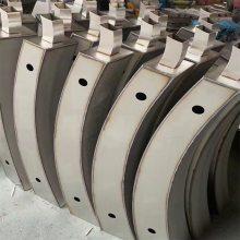 金裕 园林不锈钢防护栏杆厂家定做 户外防撞栏杆