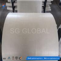 PP编织袋筒料生产 厂家直销 白色半成品布卷 量大优惠