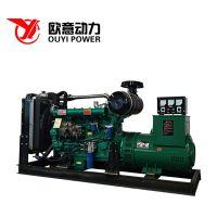 100千瓦柴油发电机组 潍坊潍柴100kw发电机组配上海无刷发电机系列 直销