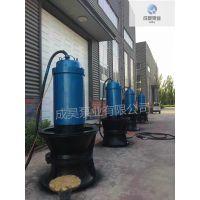 天津潜水轴流泵球墨铸铁材质无阻塞造价低700QZB-100生产厂家