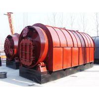 热销LJ-10易操作废轮胎、废塑料、废橡胶裂解设备