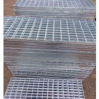 脚踏板钢格栅板对插网格板Q235热镀锌钢格板踏步板